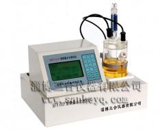 安徽SFY-01f型微量水分测定仪(绿屏)